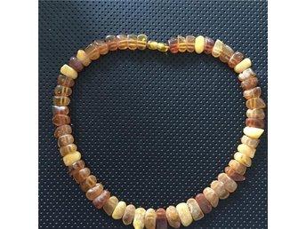 Vacker amber bärnsten halsband - Helsingborg - Vacker amber bärnsten halsband - Helsingborg