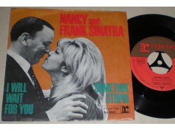 Nancy and Frank Sinatra 45/PS Somethin stupid 1967 - Farsta - Nancy and Frank Sinatra 45/PS Somethin stupid 1967 - Farsta