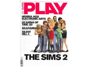 SUPER PLAY NR 102  2004 - OCARINA OF TIME , THE SIMS 2..