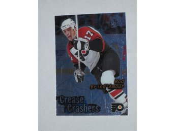 1995-96 Rob Brind Amour #2 Crease Crashers Fleer Ultra Extra - Ljungby - 1995-96 Rob Brind Amour #2 Crease Crashers Fleer Ultra Extra - Ljungby