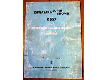 KAWASAKI SUPER SHOVEL KSS7  MANUAL