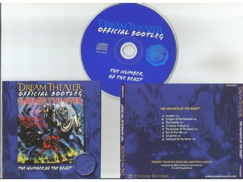 DREAM THEATER - The Number Of The Beast (Live in Paris, 24.10.2002) CD