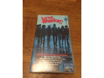 THE WARRIORS VHS FILM paramount pictures 1979
