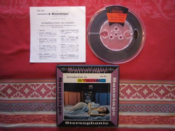 Sonotape SWB 7024, Introduction to STEREO, USA 2-track 1957