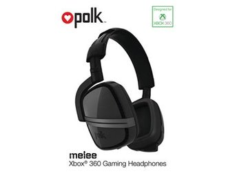 Polk / Melee Headset Black