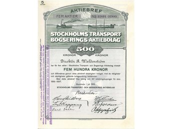 Stockholms Transport-Bogserings AB