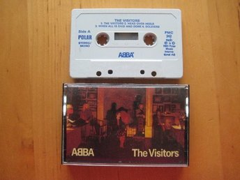 Javascript är inaktiverat. - Helsingborg - Säljer ABBA - The Visitors - KASSETT från 1981- Funkade bra när jag provspelade. Säljes i befintligt skick! Köparen betalar frakten. Posten 18 kr. För säker betalning betalar du direkt till Tradera. När jag får info om att betalning - Helsingborg
