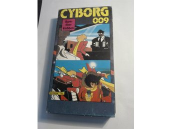 Cyborg 009 - avsnitt 31+32 - VHS - NM International nr. 3029