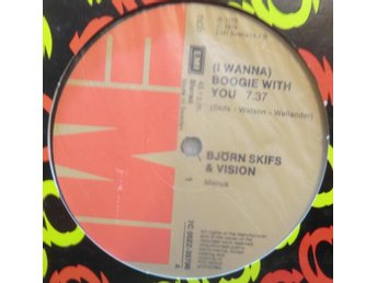 Björn Skifs & Vision-(I wanna) Boogie with you / 12""