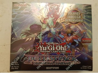 Yu-gi-oh 36st paket Dimensional Guardians - Booster box - Ny Inplastad!