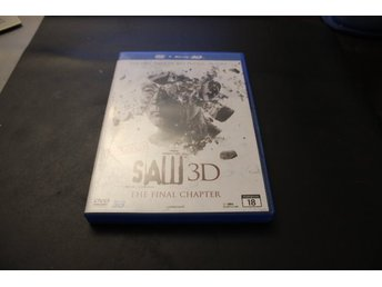 Bluray3D+DVD-film: Saw 3D - The final chapter