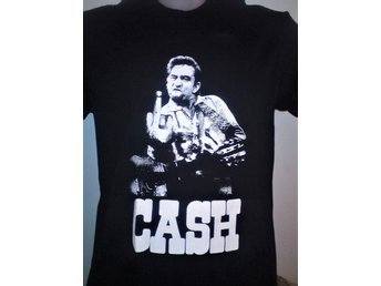 JOHNNY CASH (XL) - T-Shirt- (Elvis, Rockabilly, Country, Social Distortion,)