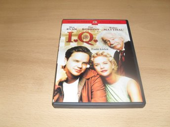 DVD-film: I.Q. (Meg Ryan, Tim Robbins)