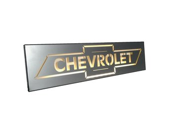 Chevrolet Nostalgiskylt Led.
