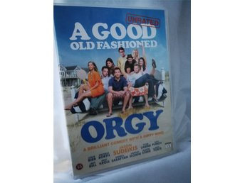 DVD A Good old fashioned orgy (Jason Sudeikis Leslie Bibb Orgie Sex Vänner Somma