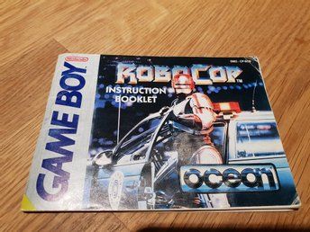 Robocop SCN Manual GAME BOY