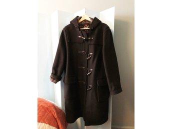 """Gloverall """"Womens original duffel coat"""" svart strl L säljes"""