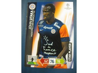 STAR PLAYER -  JOHN UTAKA -  MONTPELLIER - CHAMPIONS LEAGUE 2012-2013
