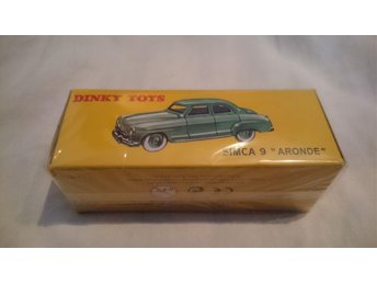 "Dinky Toys SIMCA 9 ""ARONDE"" Aldrig uppackad"