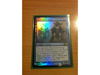 Magic the Gathering, MtG kort, M12 - Phantasmal Image (FOIL) NM