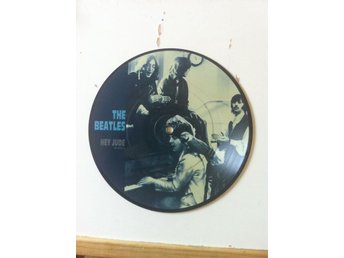 THE BEATLES - HEY JUDE - PIC DISC !
