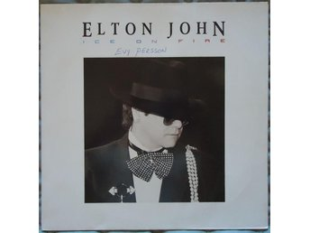 ELTON JOHN -ICE ON FIRE-LP 1985