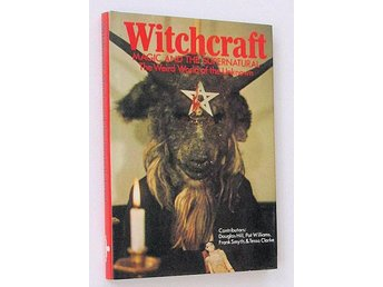 Stor bok WITCHCRAFT 1974 Magic and the supernatural REA 9kr JULKLAPP !