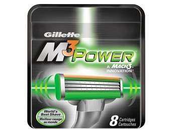 Gillette Mach3 Power Rakblad 8-pack - Gillette