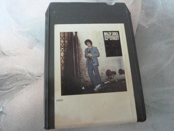 BILLY JOEL, 52ND STREET,  KASSETTBAND, 8-TRACK
