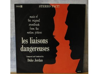 DUKE JORDAN :: LES LIAISONS DANGEREUSES:  (LP) UK Press