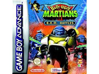Butt-Ugly Martians B.K.M Battles - Gameboy Advance
