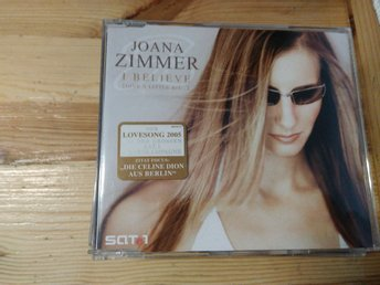 Joana Zimmer - I Believe (Give A Little Bit...), CDs