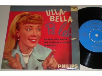 Ulla-Bella EP/PS På lek 1959