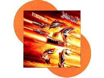 Judas priest -Firepower dlp orange vinyl ltd 500 copies