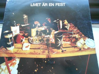 LP NATIONALTEATERN - LIVET ÄR EN FEST 1974