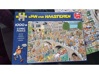 Jan van Haasteren King´s day 1000 bitar