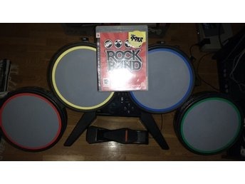 PlayStation 3/PS3: Rock Band Trummor Trumset + spel