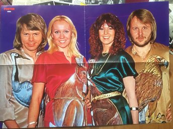 Abba poster from Poster magazine 1978 Near mint