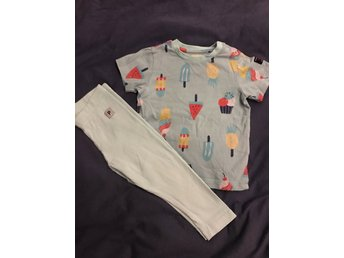 Polarn o pyret set t-shirt leggings 80