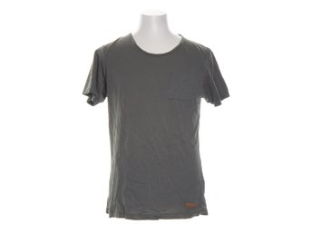 Selected Jeans, T-shirt, Strl: L, Grön