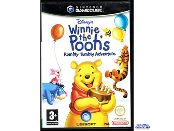 WINNIE THE POOHS RUMBLY TUMBLY ADVENTURE GAMECUBE