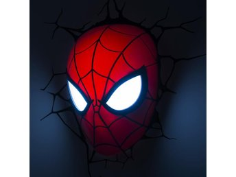 Marvel Comics 3D LED Light Spider-Man Mask