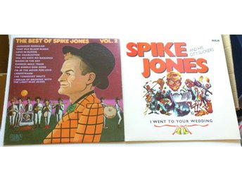 Spike Jones 2 LP Best of vol 2 I Went to Your Wedding