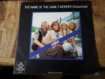 """ABBA - The name of the game / I wonder (Departure) 7""""singel - Torshälla - ABBA - The name of the game / I wonder (Departure) 7""""singel - Torshälla"""