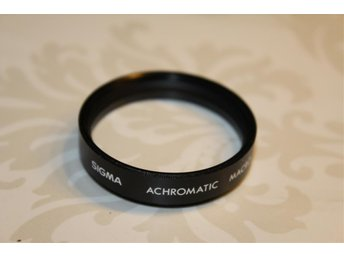 SIGMA ACHROMATIC MACRO LINS 43 MM FILTER OANVÄNT