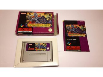 Super Ghouls 'n Ghosts - SCN - Super Nintendo SNES