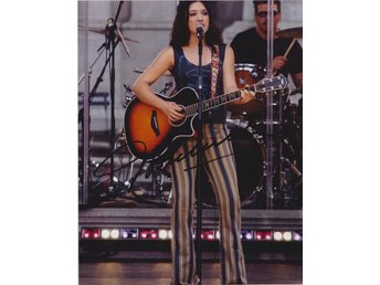 MICHELLE BRANCH AMERICAN SINGER SONGWRITER ACTRESS PRE-PRINT AUTOGRAF FOTO