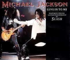"CD-singel Michael Jackson ""Give in to me"""