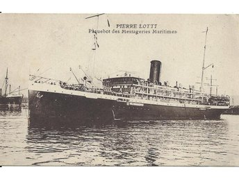 "French Liner "" PIERRE LOTTI """