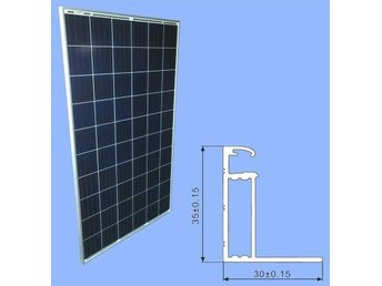 Solpanel Solcell Solfångare 260W *NY A Grade Polycrystalline